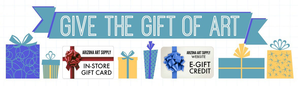 Arizona Art Supply - Gift of Art Gift Card